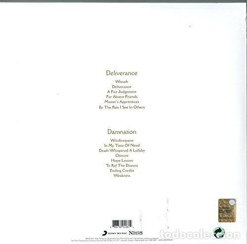 Discos de vinilo: OPETH DELIVERANCE & DAMNATION 3 LPs TRIPLE VINILO NUEVO - Foto 4 - 164972418