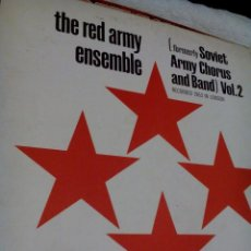 Vinyl-Schallplatten - R A___THE RED ARMY ENSEMBLE,FORMERLY SOVIET ARMY CHORUS AND BAND VOL.2 - 164982742