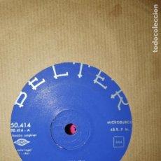 Discos de vinilo: SAN REMO 1961, 24.000, NON MI DIRE CHI, POZZANGHERE, UN UOMO VIVO, BELTER, 1961.. Lote 165001674