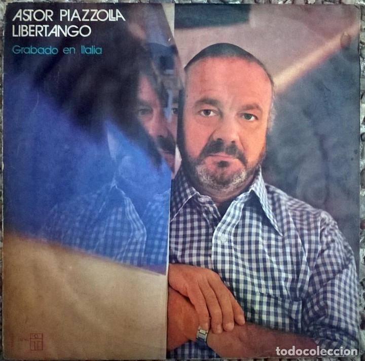 Astor Piazzolla  Libertango (grabado en Italia)  Trova, Argentina 1974 LP  (XT-80083)