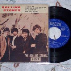 Discos de vinilo: THE ROLLING STONES 7 ´EP ROUTE 66 + 3 TEMAS (1964) PRIMERA EDICION ORIGINAL ESPAÑA - DECCA - 80823. Lote 165010950