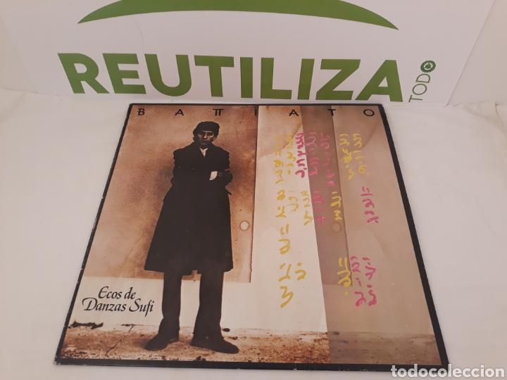 BATTIATO.ECOS DE DANZA SUFI.1985. (Música - Discos - LP Vinilo - Canción Francesa e Italiana)
