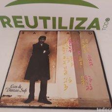 Disques de vinyle: BATTIATO.ECOS DE DANZA SUFI.1985.. Lote 195462751