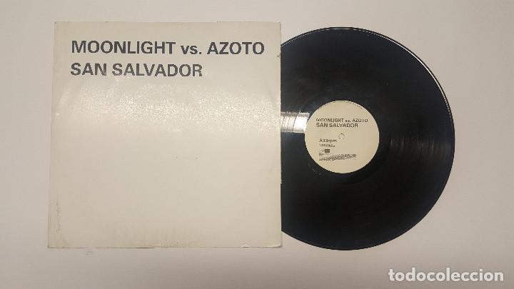MOONLIGHT VS AZOTO – SAN SALVADOR 2004 (Música - Discos - Singles Vinilo - Techno, Trance y House)