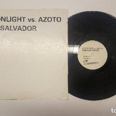 Disques de vinyle: MOONLIGHT VS AZOTO – SAN SALVADOR 2004. Lote 165037230