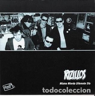 THE RIZILLOS, MISMA MIERDA DIFERENTE DÍA // KÄRNVAPEN ATTACK: NO ME TOQUES LA BICICLETA (Música - Discos - Singles Vinilo - Punk - Hard Core)