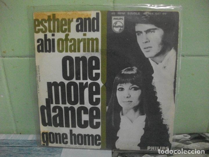 Discos de vinilo: ESTHER AND ABI OFARIM ONE MORE DANCE SINGLE SPAIN 1968 PDELUXE - Foto 2 - 165046122