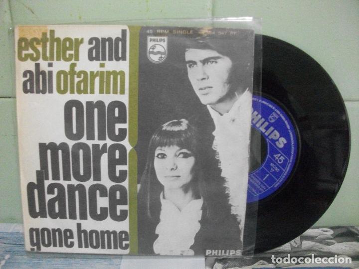 ESTHER AND ABI OFARIM ONE MORE DANCE SINGLE SPAIN 1968 PDELUXE (Música - Discos - Singles Vinilo - Pop - Rock Extranjero de los 50 y 60)