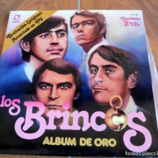 Discos de vinilo: LP -ZAFIRO - LOS BRINCOS - ALBUM DE ORO CONTIENE 2 LP'S. Lote 165046970