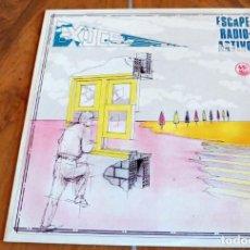Discos de vinilo: LP -VICTORIA - EXOCET - ESCAPE RADIOACTIVO. Lote 165047346