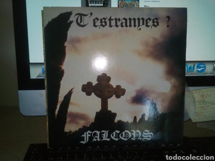 FALCONS T ESTRANYES APARENTEMENTE SIN USO LP JOYA PROGRESIVO CATALAN 1984 (Música - Discos - LP Vinilo - Grupos Españoles de los 70 y 80)