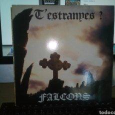 Discos de vinilo: FALCONS T ESTRANYES APARENTEMENTE SIN USO LP JOYA PROGRESIVO CATALAN 1984. Lote 165052977