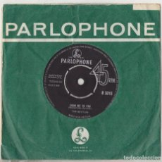 Discos de vinilo: THE BEATLES FROM ME TO YOU / THANK YOU GIRL ORIGINAL 1963 UK SINGLE PARLOPHONE R 5015. Lote 165058574