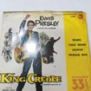 Discos de vinilo: ELVIS PRESLEY: KING CREOLE ( TROUBLE / YOUNG DREAMS / CRAWFISH / DIXIELAND ROCK. Lote 165059370