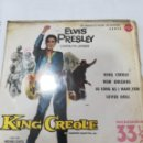 Discos de vinilo: ELVIS PRESLEY: KING CREOLE ( KING CREOLE / NEW ORLEANS / AS LONG AS I HAVE YOU / LOVER DOLL ). Lote 165059534