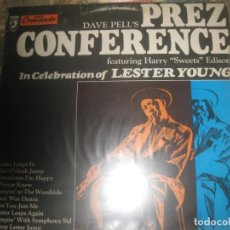 Discos de vinilo: DAVE PELL FEATURING HARRY - – DAVE PELL'S PREZ CONFERENCE ( 1978 - DISCOPHON) OG ESPAÑA. Lote 165061162