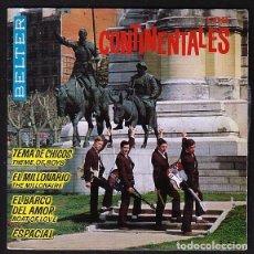 Discos de vinilo: LOS CONTINENTALES: BEATLES RARO EP - ESPAÑOL DE BELTER- LAMINADO-. Lote 165066110