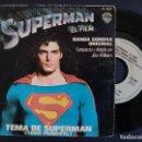 Discos de vinilo: SUPERMAN - B.S.O. - JOHN WILLIAMS - LONDON SYMP. ORCHES. - SINGLE ESPAÑOL 1978 - WB*PEDIDO MIN.5€*. Lote 165071910