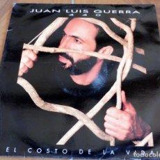 Discos de vinilo: LP - ARIOLA - JUAN LUIS GUERRA - 440 - EL COSTO DE LA VIDA. Lote 165072414