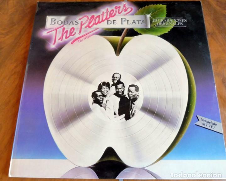 LP - MERCURY - THE PLATTERS - BODAS DE PLATA (Música - Discos - LP Vinilo - Funk, Soul y Black Music)