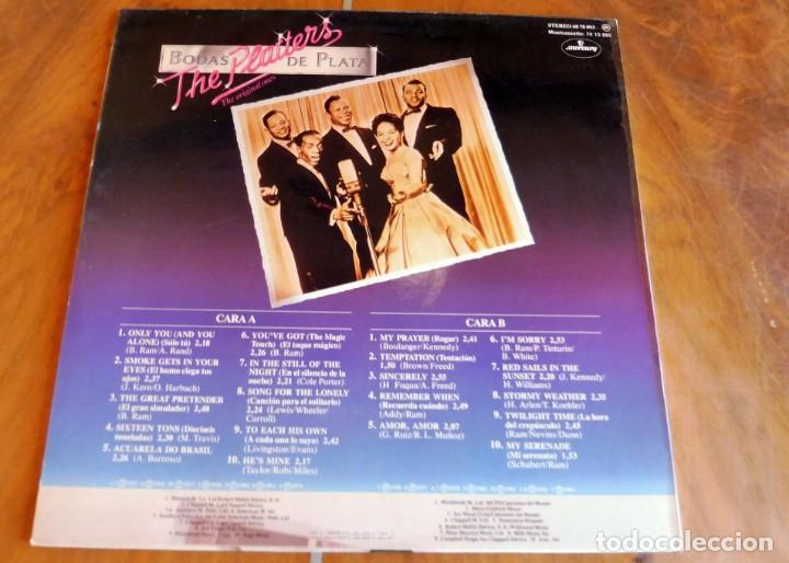 Discos de vinilo: LP - MERCURY - THE PLATTERS - BODAS DE PLATA - Foto 2 - 165081394