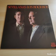 Discos de vinilo: LOS ROCIEROS - SEVILLANAS - LP VINILO - MOVIEPLAY - 1976. Lote 165088326