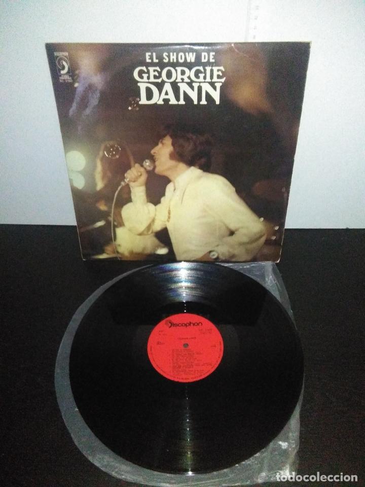 Discos de vinilo: disco vinilo lp EL SHOW DE GEORGIE DANN DISCOPHON - Foto 3 - 165088754