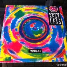 Vinyl-Schallplatten - MAXI SINGLE. NEW BEAT LESS. MEDLEY. 1990, ITALY - 165089674