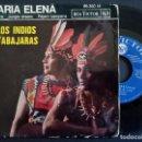 Discos de vinilo: LOS INDIOS TRABAJARAS - MARIA ELENA + TERNURA + JUNGLE DREAM...- EP FRANCES 1963 - RCA. Lote 165090602