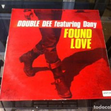 Discos de vinilo: MAXI SINGLE. DOUBLE DEE. FOUND LOVE. . 1991, ESPAÑA. Lote 165096174