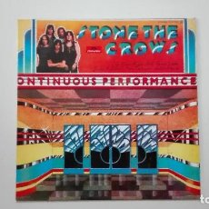 Discos de vinilo: STONE THE CROWS LP ONTINUOUS PERFORMANCE POLYDOR 1972 23 91 043. Lote 165099718