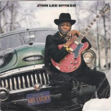 Discos de vinilo: JOHN LEE HOOKER,MR LUCKY DEL 90 PROMO LAS 2 CARAS IGUALES. Lote 165111830