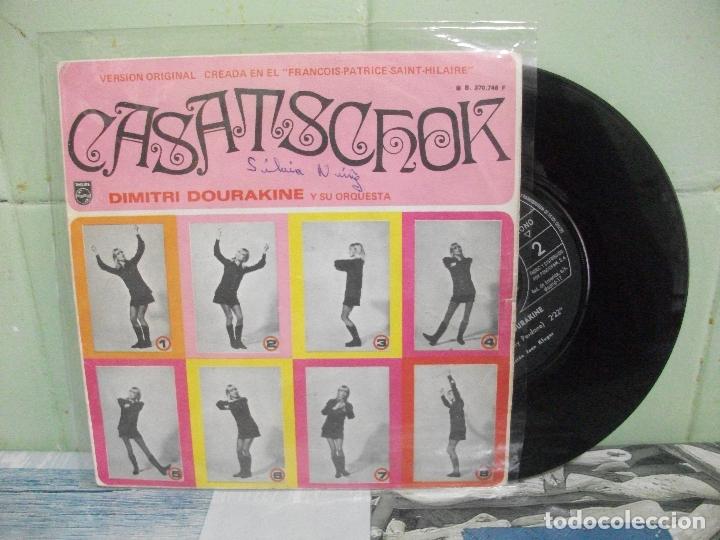 DIMITRI DOURAKINE Y SU ORQUESTA CASASTCHOCK SINGLE SPAIN 1969 PDELUXE (Música - Discos - Singles Vinilo - Pop - Rock Extranjero de los 50 y 60)