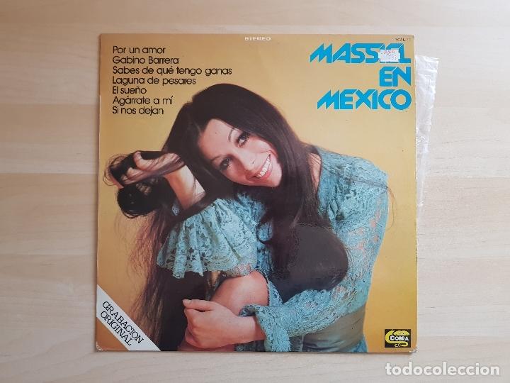 MASSIEL EN MEXICO - LP VINILO - COBRA - 1978 (Música - Discos - LP Vinilo - Solistas Españoles de los 70 a la actualidad)