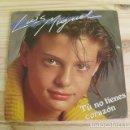 Discos de vinilo: DISCO VINILO LUIS MIGUEL - TU NO TIENES CORAZÓN - HABLAME - 1984. Lote 165134434