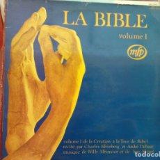 Discos de vinilo: BJS.DISCO DE VINILO.LP.LA BIBLE VOLUME I.COMPLETA TU COLECCION.. Lote 165141802