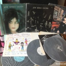 Discos de vinilo: SERES VACIOS 3 LP- LA CASA DE LA IMPERFECCIÓN,LUNA NUEVA, RECUERDA.- PARÁLISIS PERMANENTE, LA MOVIDA. Lote 165143458