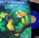 Discos de vinilo: TRINOS DE RUISEÑORES Y CANARIOS. SINGLE PROMO NIDO. INTERDISC 45 RPM. Lote 165152338