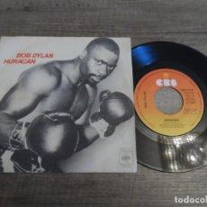 Discos de vinilo: BOB DYLAN – HURACÁN . Lote 165154990