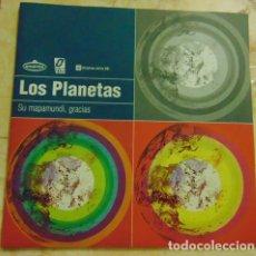 Discos de vinilo: LOS PLANETAS / SR. CHINARRO – SU MAPAMUNDI, GRACIAS / ¿QUÉ PUEDO HACER? - SINGLE. Lote 165156378