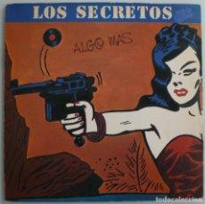 Discos de vinilo: LOS SECRETOS - ALGO MAS (LP POLYDOR 1983). Lote 165168862