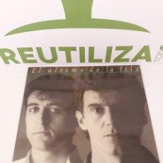 Discos de vinilo: EL ULTIMO DE LA FILA.COMO LA.CABEZA AL.SOMBRERO.1988.. Lote 165170133