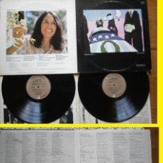 Discos de vinilo: JOAN BAEZ / BLESSED ARE..1971, 22 TEMAS DOBLE LP !! RARA COMPLETA 1ª ORIG USA EDIT VANGUARD !! EXC. Lote 165172610