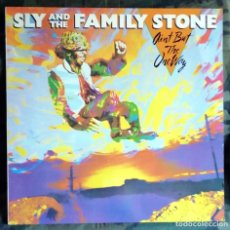 Discos de vinilo: SLY & THE FAMILY STONE – AIN'T BUT THE ONE WAY LP, FRANCE 1982 . Lote 165179958