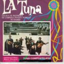 Discos de vinilo: TUNA COMPOSTELA / NA CATALINA DA PLAÇA - ESCUELA DE INGENIEROS, CANALES Y PUERTOS DE MADRID. Lote 165183706