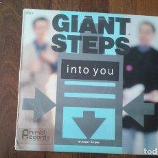 Discos de vinilo: GIANT STEPS-INTO YOU.MAXI. Lote 165195366