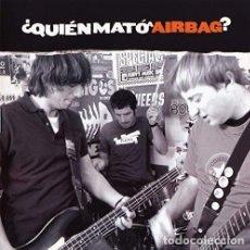 Discos de vinilo: LP AIRBAG ¿ QUIÉN MATÓ A AIRBAG? VINILO PUNK SPAIN. Lote 215913043
