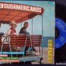 Discos de vinilo: LOS 3 SUDAMERICANOS - CATEDRAL DE WINCHESTER + GUANTANAMERA + UN HOMBRE...- EP 1967 - BELTER. Lote 165210110