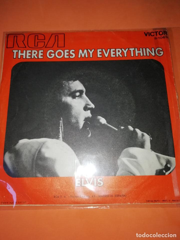 Discos de vinilo: ELVIS PRESLEY / I REALLY DON'T WANT TO KNOW / THERE GOES MY EVERYTHING (SINGLE 1971) - Foto 2 - 165218294