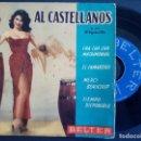 Discos de vinilo: AL CASTELLANOS Y SU ORQUESTA - EL CAMARERO + MERCI BEAUCOUP + CHA, CHA...EP BELTER. Lote 165219394